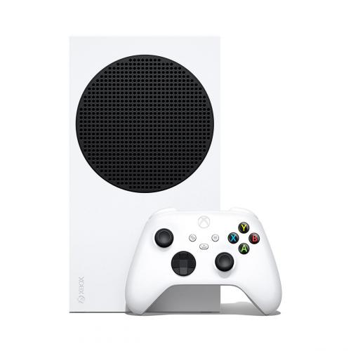 Xbox Series S 512GB SSD Console W/ Xbox Wireless Controller White + Xbox Wireless Controller Shock Blue + Nyko Core Wired Gaming Headset