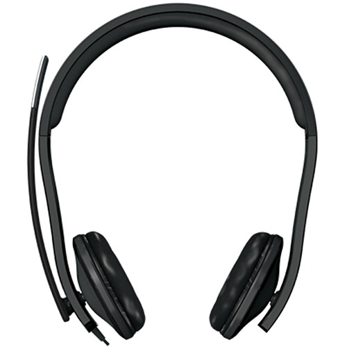 Microsoft LifeChat LX 6000 Headset   Wired Headset   Binaural Headset For Clear Stereo Sound   Noise Cancelling Microphone   Comfortable 270? Adjustable Boom Mic   In Line Mute & Volume Controls