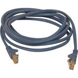 Belkin Cat5e Network Cable - RJ-45 Male Network - RJ-45 Male Network - 10ft - Blue