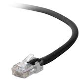 Belkin Cat5e Network Cable - RJ-45 Male Network - RJ-45 Male Network - 10ft - Black