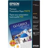 Epson Premium Presentation Paper MATTE (11.7x16.5 Inches, 50 Sheets) (S041260)
