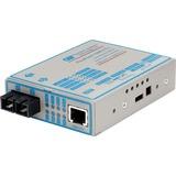 FlexPoint 100Mbps Ethernet Fiber Media Converter RJ45 SC Single-Mode 30km