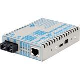 FlexPoint 10/100 Ethernet Fiber Media Converter RJ45 SC Multimode 5km