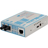 FlexPoint 100Mbps Ethernet Fiber Media Converter RJ45 ST Multimode 5km