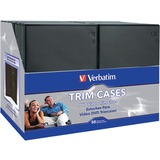 Verbatim CD/DVD Black Video Trimcases - 50pk
