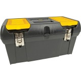 "STANLEY 019151M 19"" TOOL BOX/REMOVABLE TRAY"