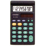 Casio 8-Digit Solar Math Calculator
