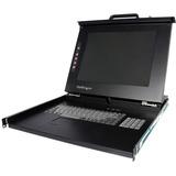 StarTech.com 1U 15 Rackmount LCD Console - USB + PS/2