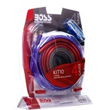 Boss Audio KIT10 4 Gauge, High Performance, Amplifier Installation Kit with RCA Interconnect and Speaker Wire