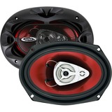 "BOSS AUDIO CH6930 Chaos Exxtreme 6"" x 9"" 3-way 400-watt Full Range Speakers"