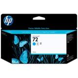 HP 72 130-ml Cyan DesignJet Ink Cartridge C9371A