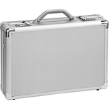 "Solo Classic AC100 Carrying Case (Attaché) for 17"" Notebook - Titanium"