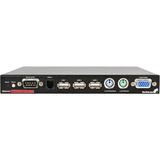 StarTech.com 1 Port USB PS/2 Server Remote Control IP KVM w/Virtual Media & Serial