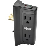 Tripp Lite Surge Protector Wallmount Direct Plug In 120V 4 Outlet 720 Joules