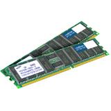 AddOn JEDEC Standard Factory Original 2GB (2x1GB) DDR2-400MHz Registered ECC Dual Rank 1.8V 240-pin CL3 RDIMM