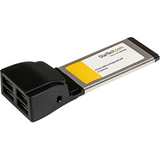 StarTech.com 4 Port ExpressCard Laptop USB 2.0 Adapter Card