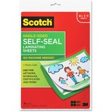 Scotch LS854SS10 Self-Sealing Laminating Sheets, 6.0 mil, 9 x 12 (Pack of 10)