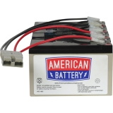 RBC25 UPS Replacement Battery for APC By American Battery