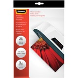 Fellowes 52010 Laminator Photo Pouch 4-1/2inx6-1/4in 5 mil. 25/PK Clear