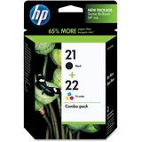 HP 21   2 Ink Cartridges   Black, Tri-color   C9351AN, C9352AN