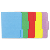 Universal 10502 Colored Top Tab File Folder