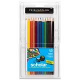 Prismacolor Scholar Colored Pencils, 12-Count