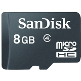 SanDisk 8GB microSD High Capacity (microSDHC) Card - (Class 4)