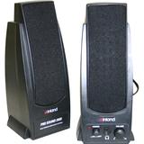 Inland Pro Sound 2000 2.0 Speaker System - 7.2 W RMS - Black