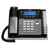 RCA ViSYS 25425RE1 Standard Phone - Silver, Black