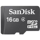 SanDisk 16GB microSD High Capacity (microSDHC) Card