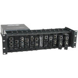Transition Networks E-MCR-05 12-slot Media Converter Rack