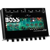 BOSS AUDIO EQ1208 4 Band Pre-Amp Equalizer with Remote Subwoofer Level Control
