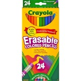 Crayola 24 Ct Erasable Colored Pencil