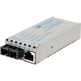 miConverter 10/100/1000 Gigabit Ethernet Fiber Media Converter RJ45 SC Multimode 550m