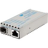 miConverter 10/100/1000 Gigabit Ethernet Fiber Media Converter RJ45 SFP