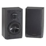 BIC America 6 in. 175-Watt 2-Way Shielded Bookshelf Speaker-DV-62SIB
