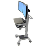 Ergotron Neo-Flex Dual WideView WorkSpace Cart