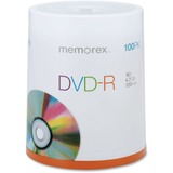 Memorex 16X DVD-R 100-Pack Spindle