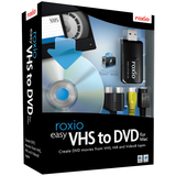 Roxio Easy VHS to DVD with USB 2.0 TV/Video Capture Device - Complete Product - 1 User