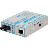 FlexPoint 1000Mbps Gigabit Ethernet Fiber Media Converter RJ45 ST Multimode 550m