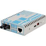 FlexPoint 10/100 Ethernet Fiber Media Converter RJ45 ST Single-Mode 30km