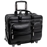 McKleinUSA Clinton P Series 88445 Detachable-Wheeled Laptop Case