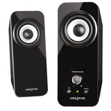 Creative Inspire T12 2.0 Speaker System - 18 W RMS - Black