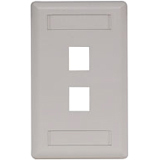 Hubbell 2-Socket IFP Faceplate