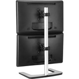 US Government compliant freestanding LED/LCD monitor stand for dual monitors | Vertical