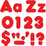"""Trend Red 4"""" Casual Combo Ready Letters Set"""