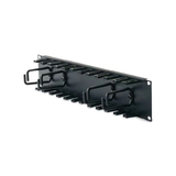 APC 2U Patch Cord Organizer - Black - 2U Rack Height