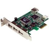 StarTech.com 4-port PCI Express LP USB Adapter Card