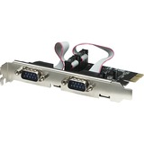 Manhattan Serial PCI Express Card with Two Ports