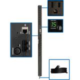 Tripp Lite PDU Monitored 120V 15A 5-15R 16 Outlet 5-15P Vertical 0URM
